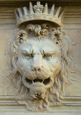 Lion from the Pitti Palace