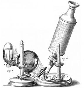 Robert Hooke's microscope