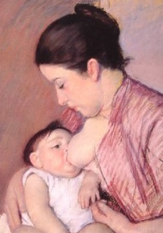 """Motherhood"" by Mary Cassatt"